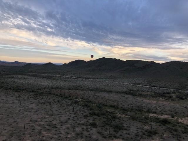 Arizona hot air balloon ride.
